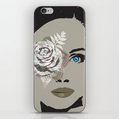 woman face 2 iPhone & iPod Skin