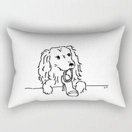 City Dogs {Shoe Diva} Rectangular Pillow