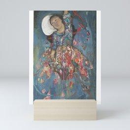 The Angel upside down Mini Art Print