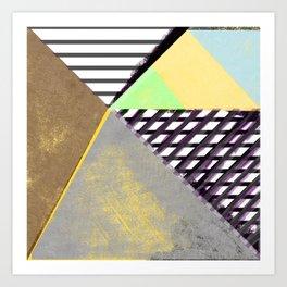 texture obsession 2 Art Print