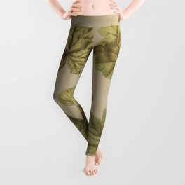 Victorian Botanical Leggings