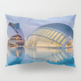 C A L A T R A V A | architect | City of Arts and Sciences III Pillow Sham