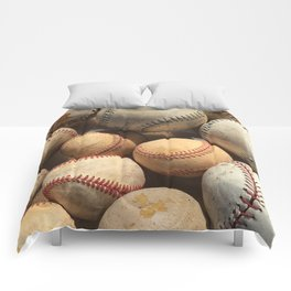 Baseball Obsession Comforters