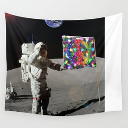 We Come In Peace Wall Tapestry