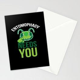 Entomophagy Needs You Stationery Cards