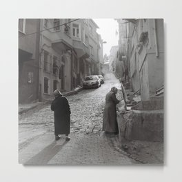 Streets of old Istanbul Metal Print