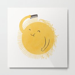 Good Morning, Sunshine Metal Print
