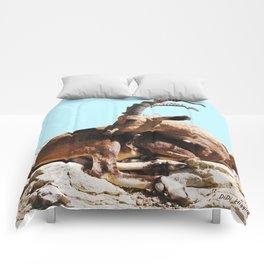 Nubian Ibex 3 Comforters