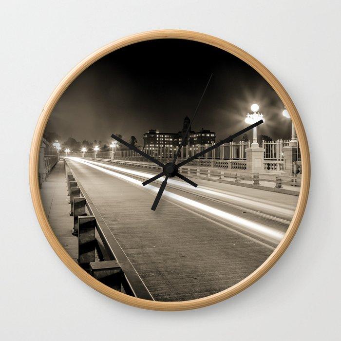 Colorado Street Bridge - Pasadena, CA Wall Clock