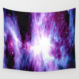 Orion Nebula Purple Periwinkle Blue Galaxy Wall Tapestry