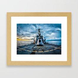 USS O'Kane Framed Art Print