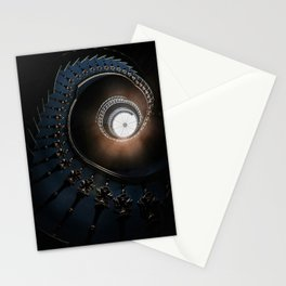Mysterious spiral staircase Stationery Cards