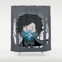 ghost Shower Curtains featuring Ghost? by Perdita