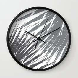 Tropical Palms Wall Clock