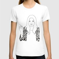 kate moss T-shirts featuring Kate Moss by Whiteland