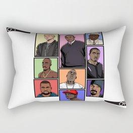 HipHop Legends Rectangular Pillow