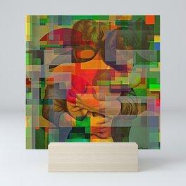 Chasoffart-Smooch-3 Mini Art Print