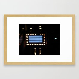 Blank Billboard Framed Art Print