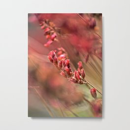 RED SPANGLES no1 Metal Print