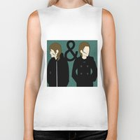 tegan and sara Biker Tanks featuring tegan & sara by lizbee