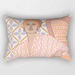 Pastel Babe Rectangular Pillow