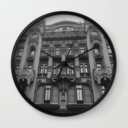 Baroque Style Hotel Wall Clock