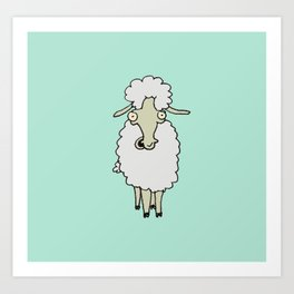 Farmyard Animal I Art Print