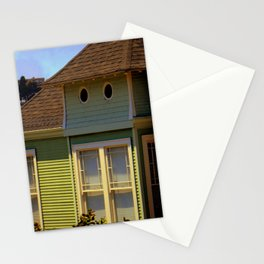 Twin Peep Holes Stationery Cards