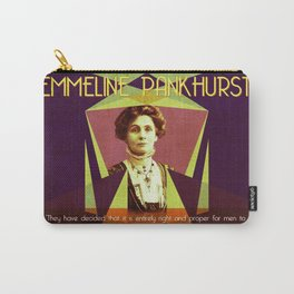 Emmeline Pankhurst Quote Carry-All Pouch