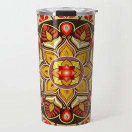 """Mandala """"Safe shelter"""" Travel Mug"""