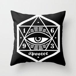 The Eye Has It Throw Pillow