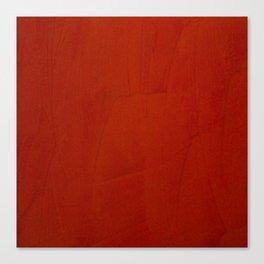 Italian Style Red Stucco Canvas Print