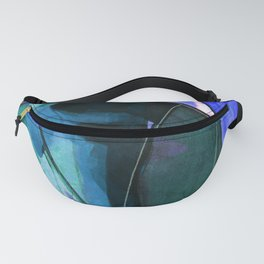 Abstraction 317I by Kathy Morton Stanion Fanny Pack