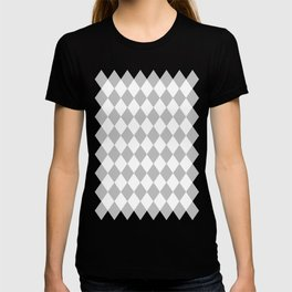 Diamonds (Silver/White) T-shirt