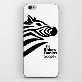 Ehlers-Danlos Society - Big Logo iPhone Skin