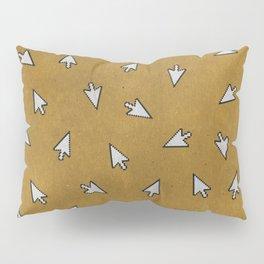 Vintage Computer Arrows (YELLOW) Pillow Sham