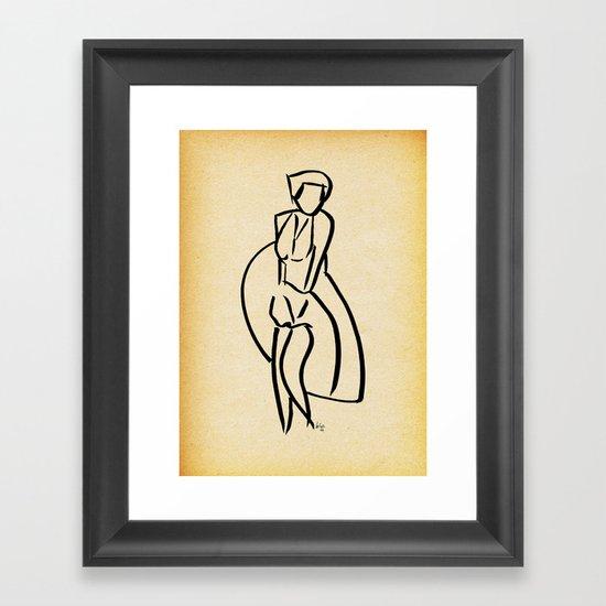 - marilyn_14 - Framed Art Print