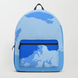 Blue Cotton Candy Backpack