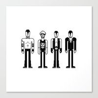 misfits Canvas Prints featuring Misfits by Band Land