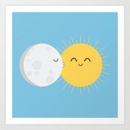 I Love You Sun! Art Print
