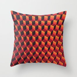 "Minecraft ""Lava"" Throw Pillow"