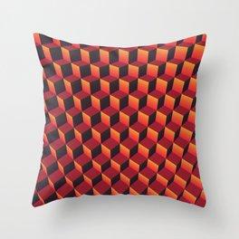 "Minecraft ""Lava"" Throw Pillow"