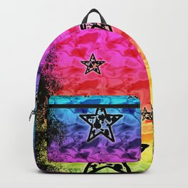 Rainbow Toxic Stars Backpack