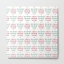 I Love You Morse Code III Metal Print