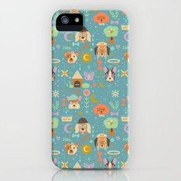 Dog World iPhone Case