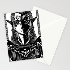 Legend of Zelda Princess Zelda Line Work  Stationery Cards