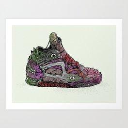 Infected Pumps Art Print
