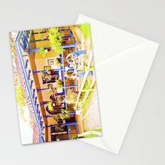 Great house, beautiful colors of my land. Stationery Cards