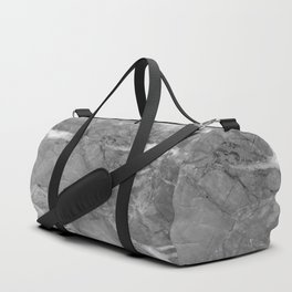 Grey Marble Duffle Bag