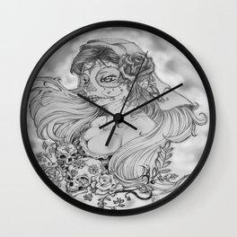 Damas de los muertos No.2 Wall Clock